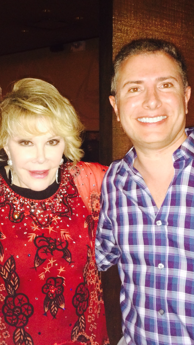 With The One and Only Joan Rivers