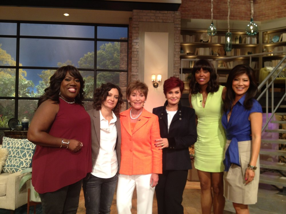 Judge Judy on The Talk