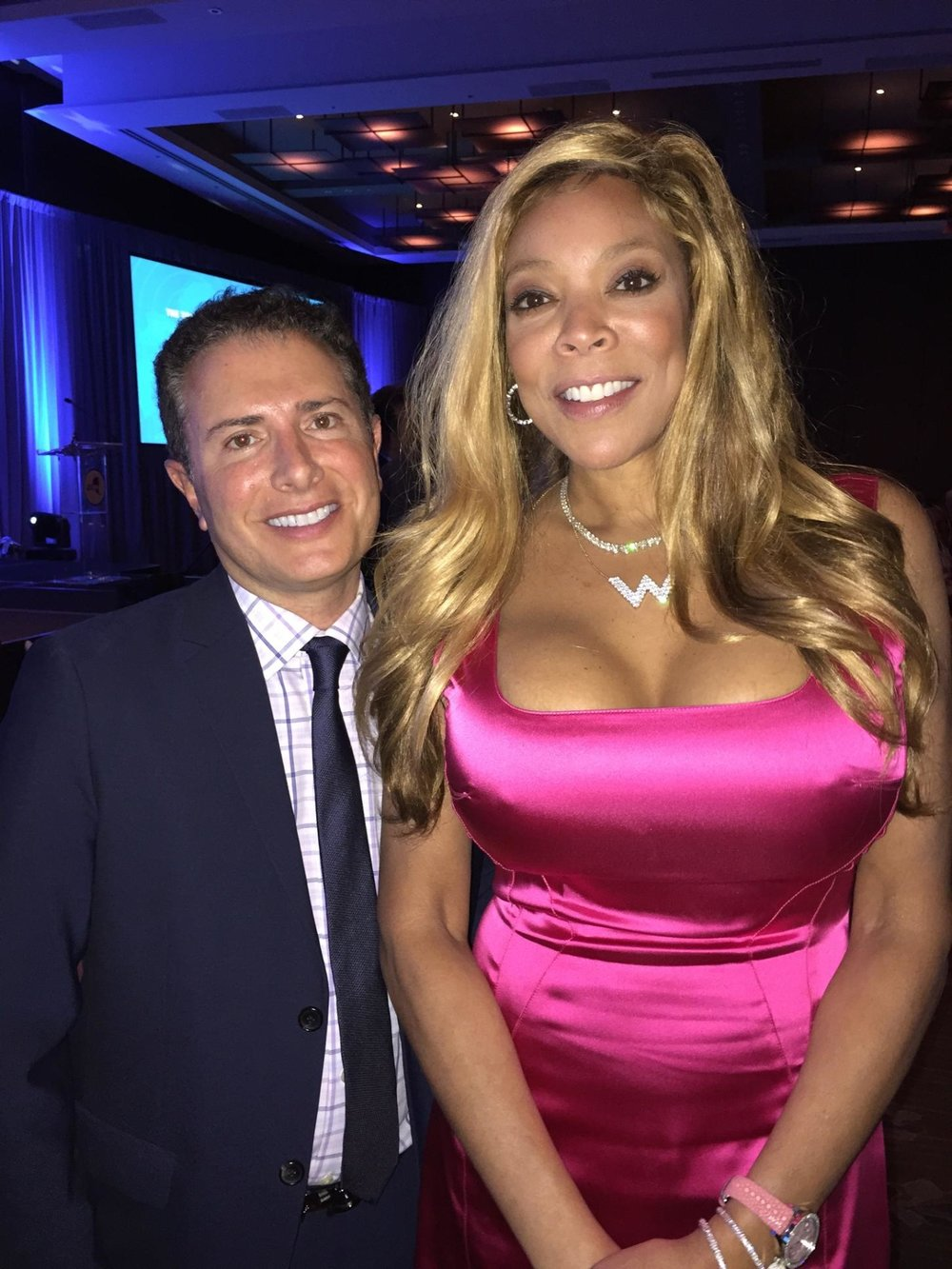 With Wendy Williams