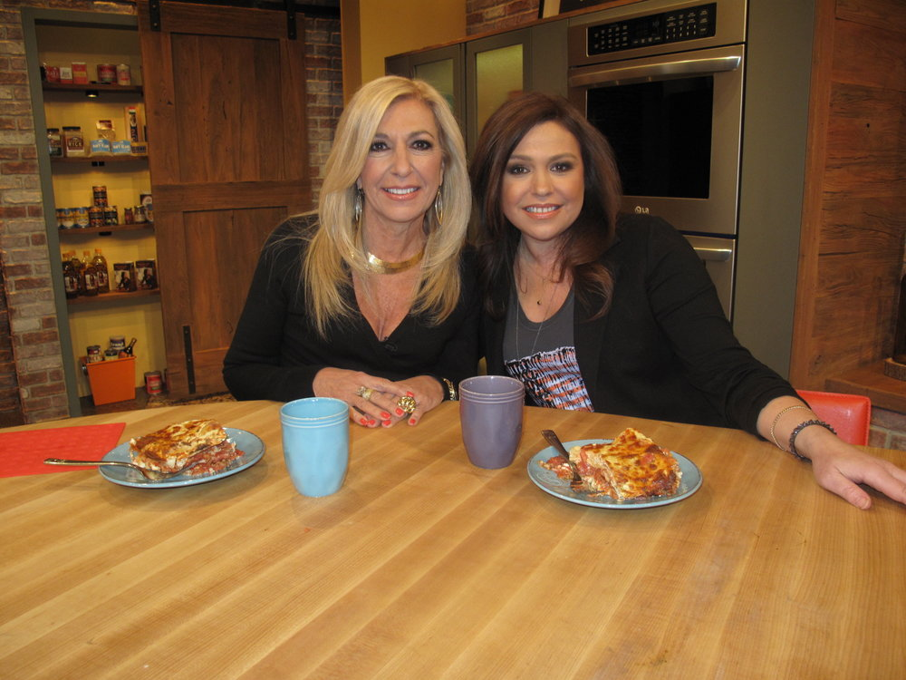 Judge DiMango and Rachael Ray