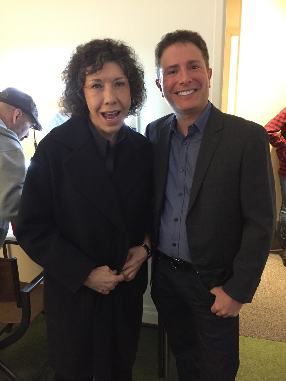 With Lily Tomlin