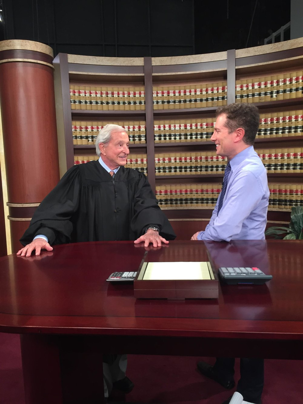Interviewing Judge Jerry Sheindlin