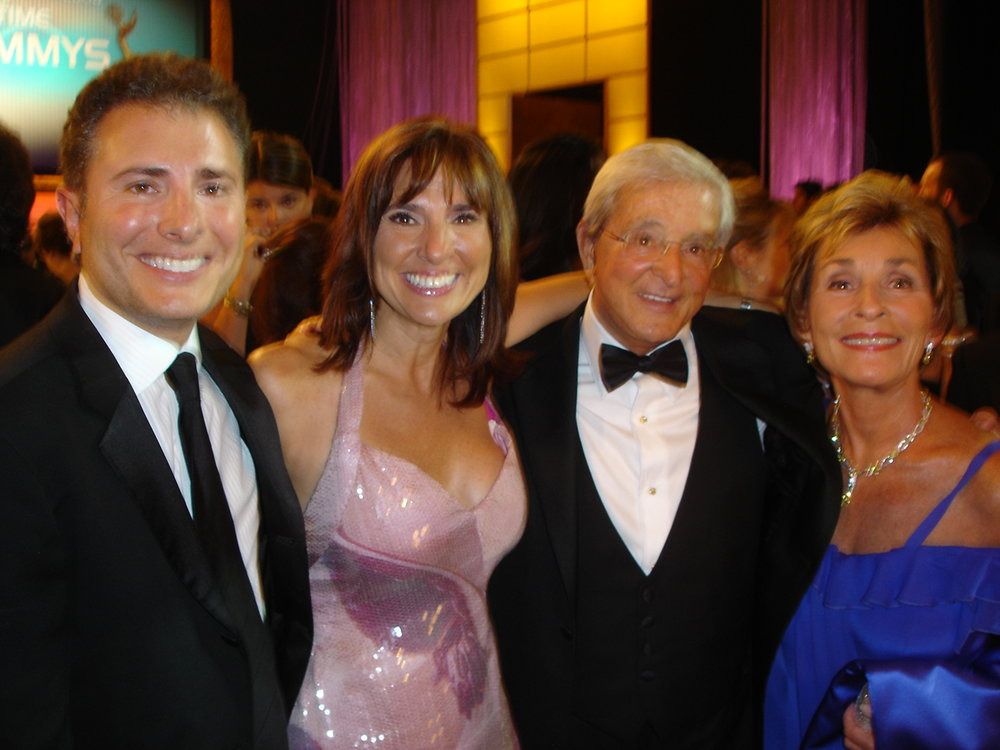 Judge Judy and Judge Jerry Sheindlin with Judge Marilyn Milian at the Daytime Emmy Awards