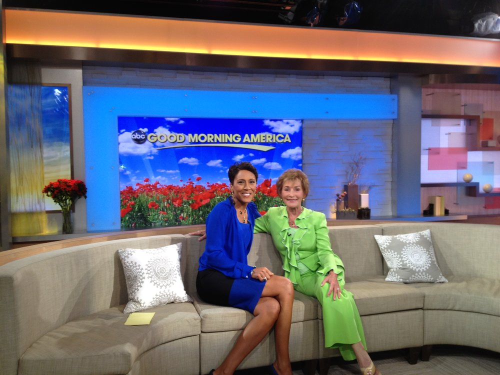 Judge Judy with Robin Roberts