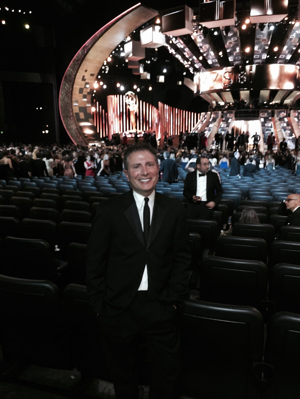 At the Primetime Emmy Awards