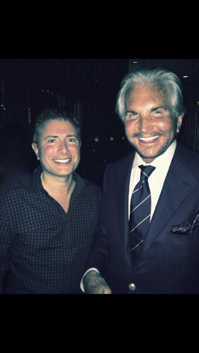 With George Hamilton