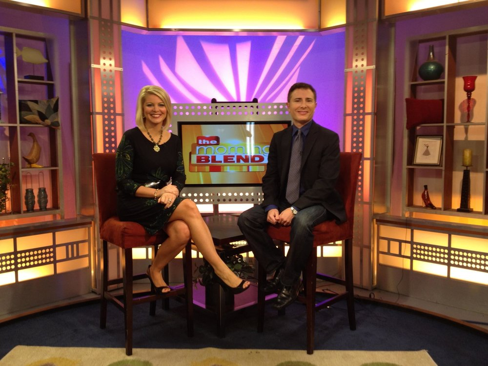 With Carley Wegner Co-anchoring 'The Morning Blend' on FOX4