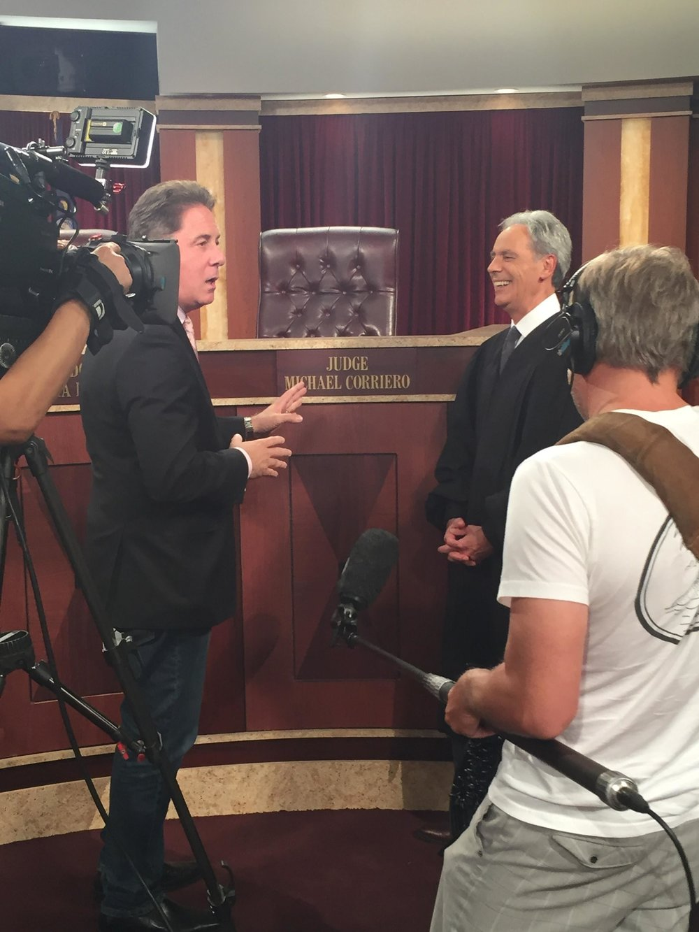 Behind The Scenes of Hot Bench with Inside Edition