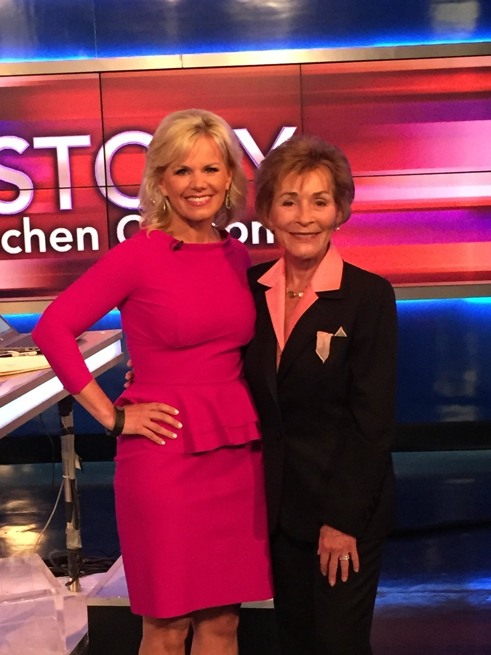 Judge Judy and Gretchen Carlson