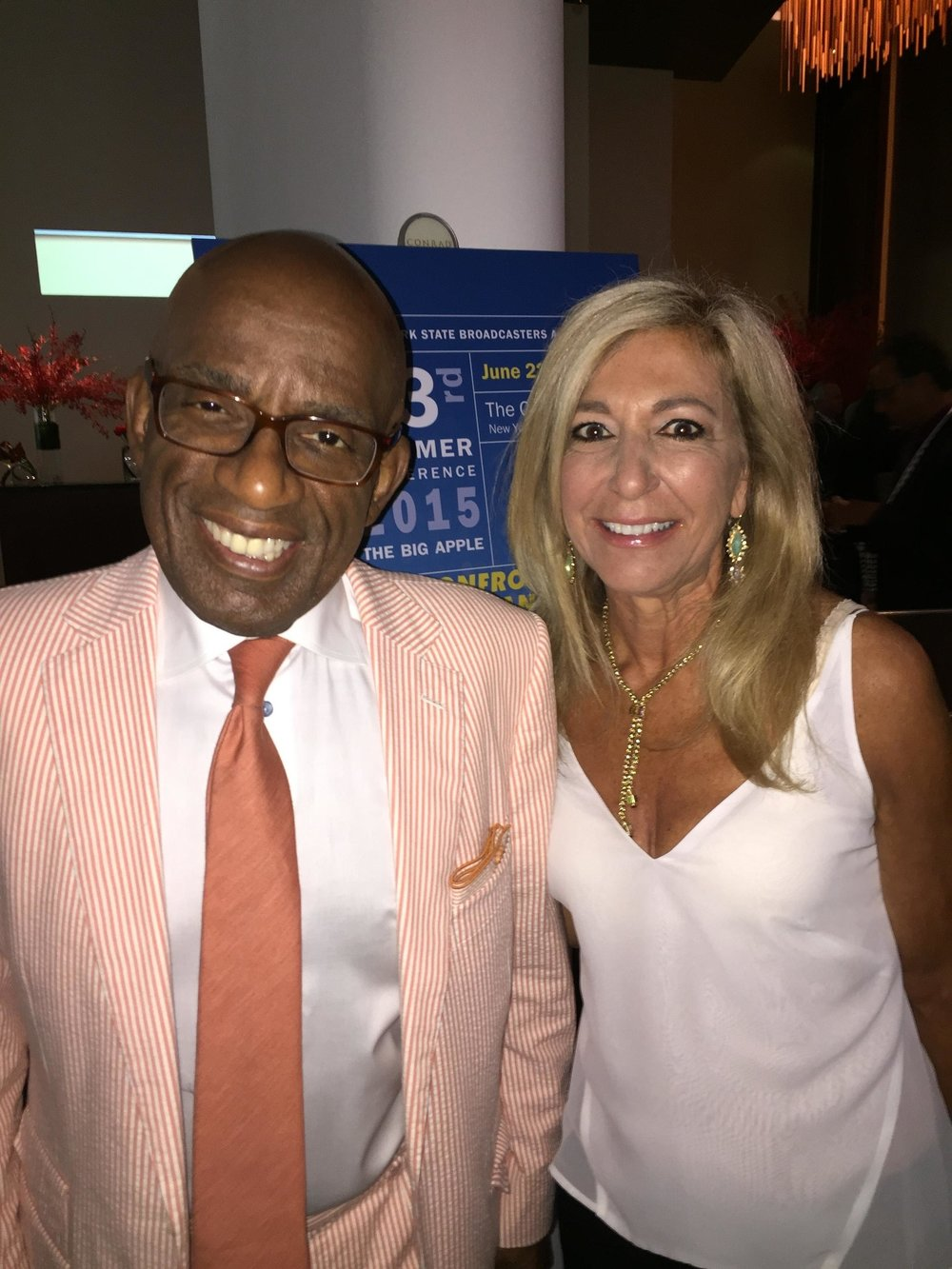 Judge DiMango with Al Roker
