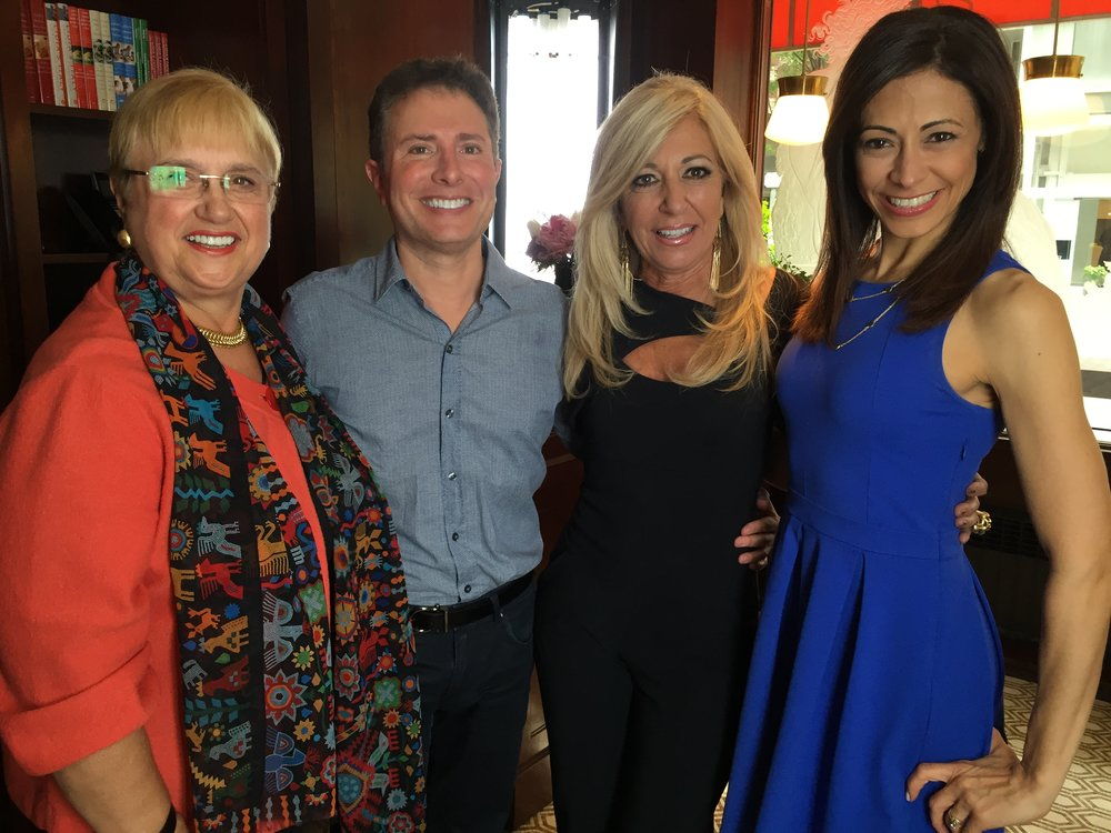With Judge DiMango, Lidia Bastianich and Lisa Mateo