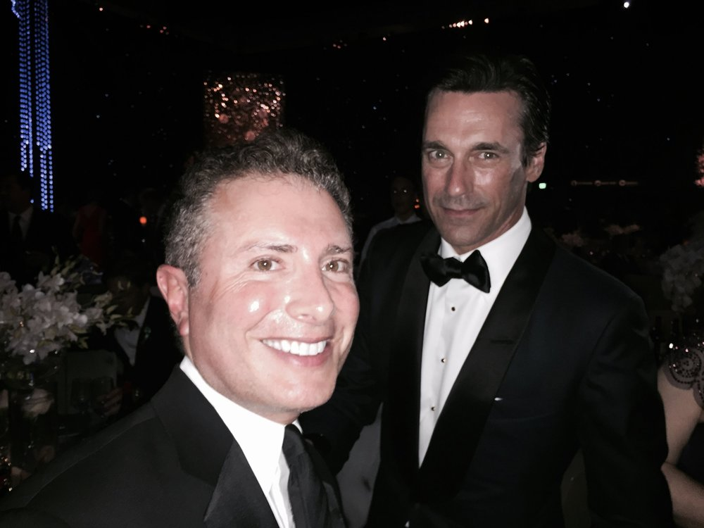 With Jon Hamm