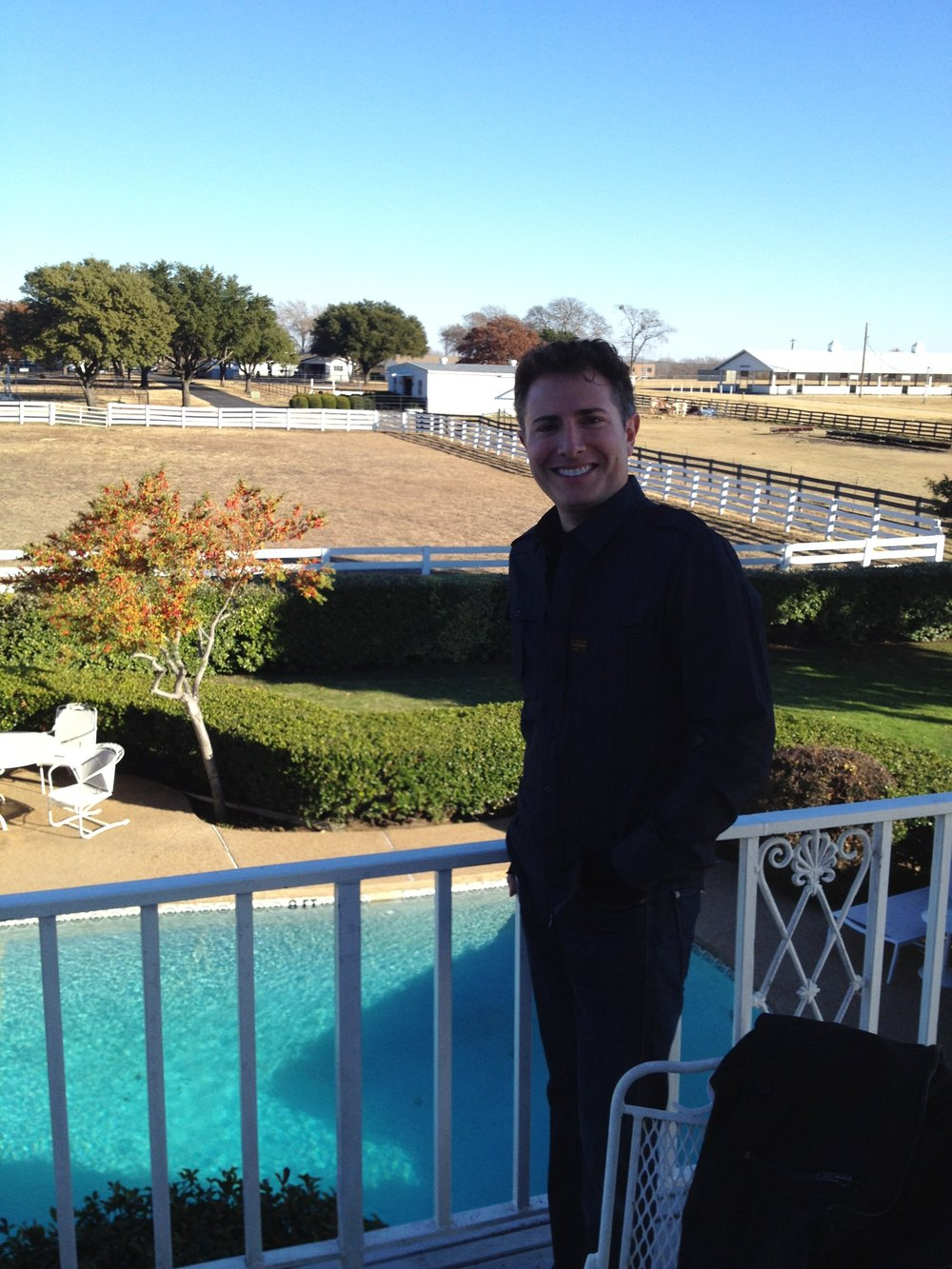 At The Southfork Ranch, Home of Dallas