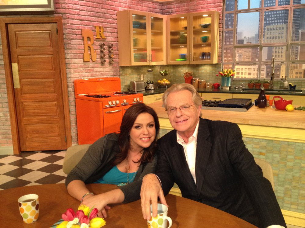 Jerry Springer with Rachael Ray
