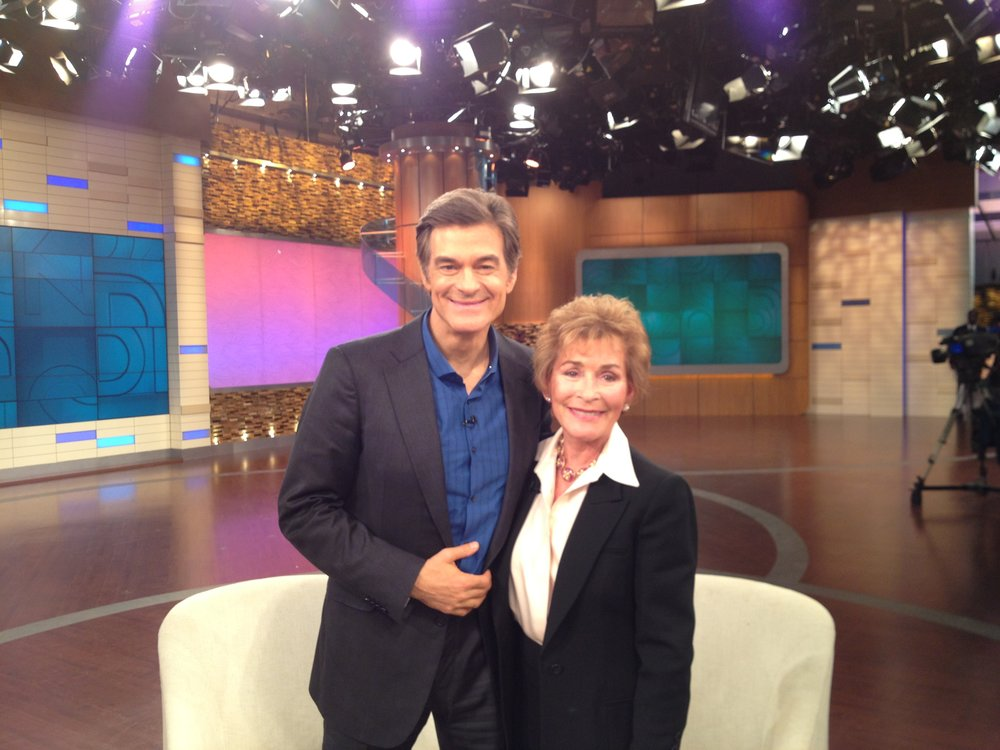 Judge Judy with Dr. Oz