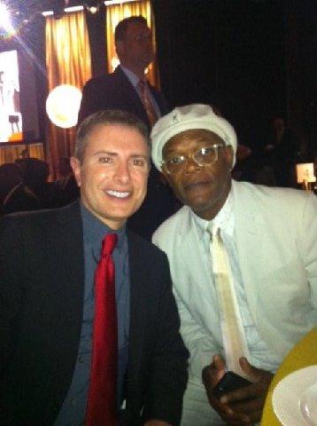 With Samuel L. Jackson