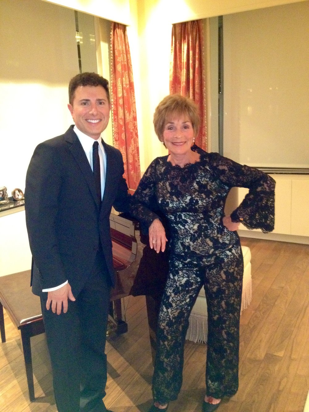 With Judge Judy