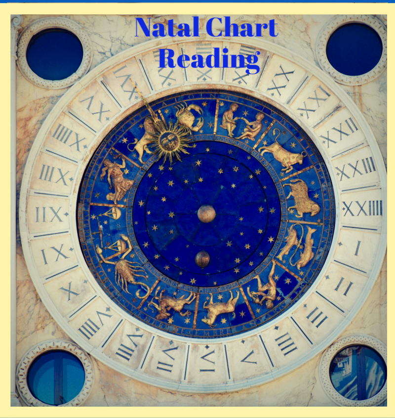 Natal Chart Reading The Artisan Tarot