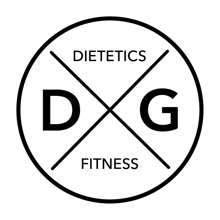 DG Dietetics & Fitness Logo