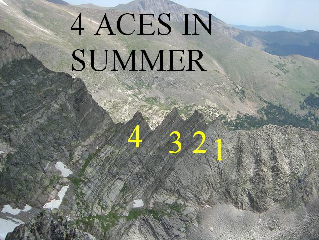 4 aces in summer