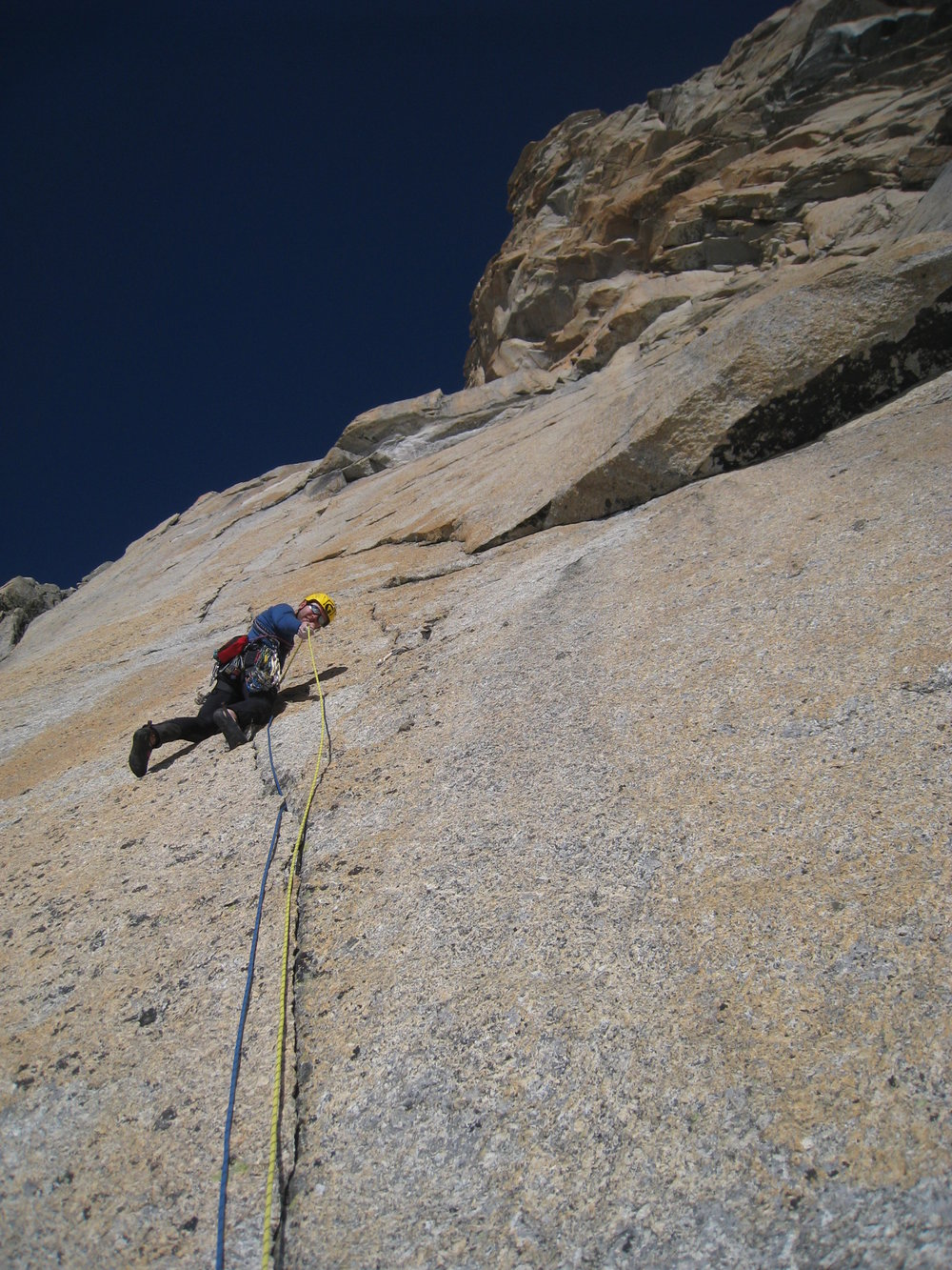The climbing was phenomenal and we were strangely alone 670d216dca5b
