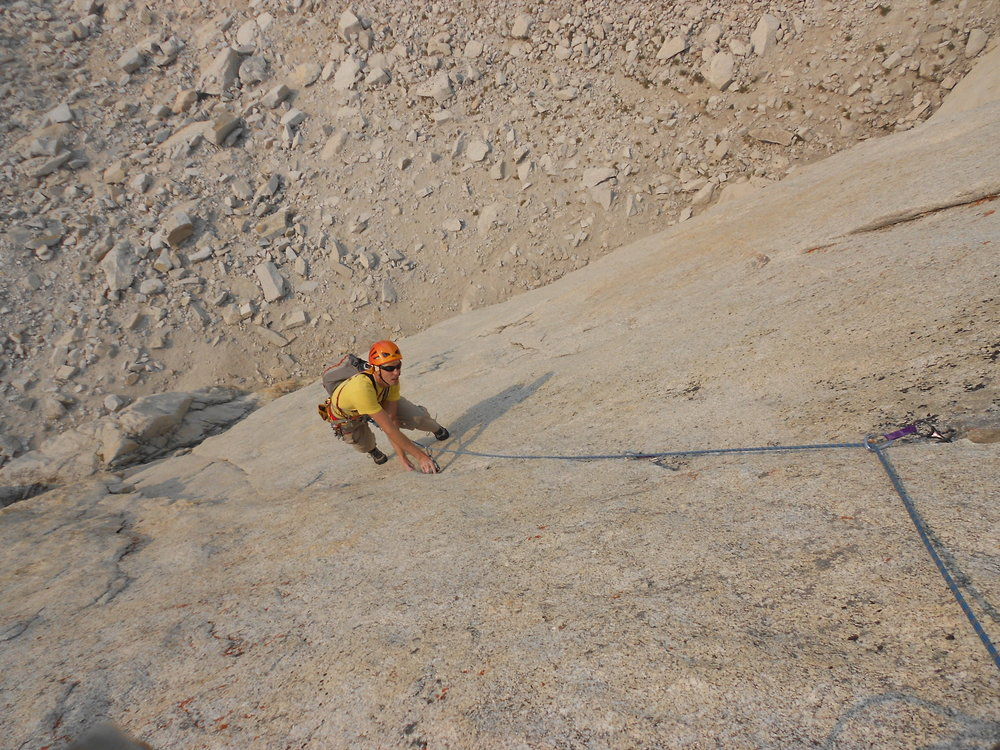 Josh on Pitch 1