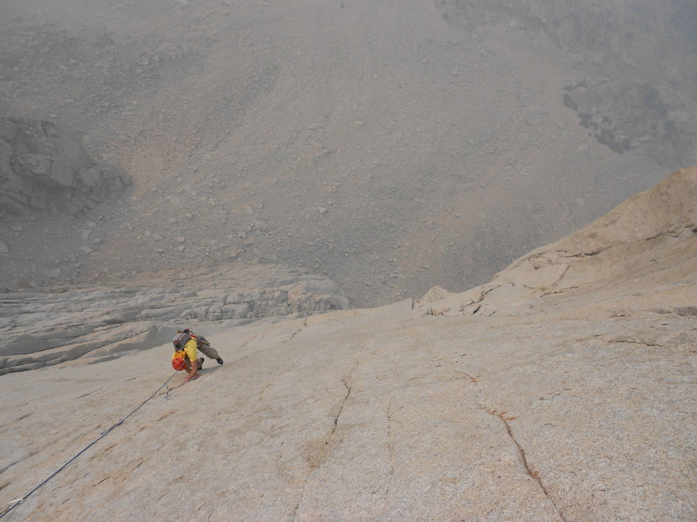 Josh following pitch 8