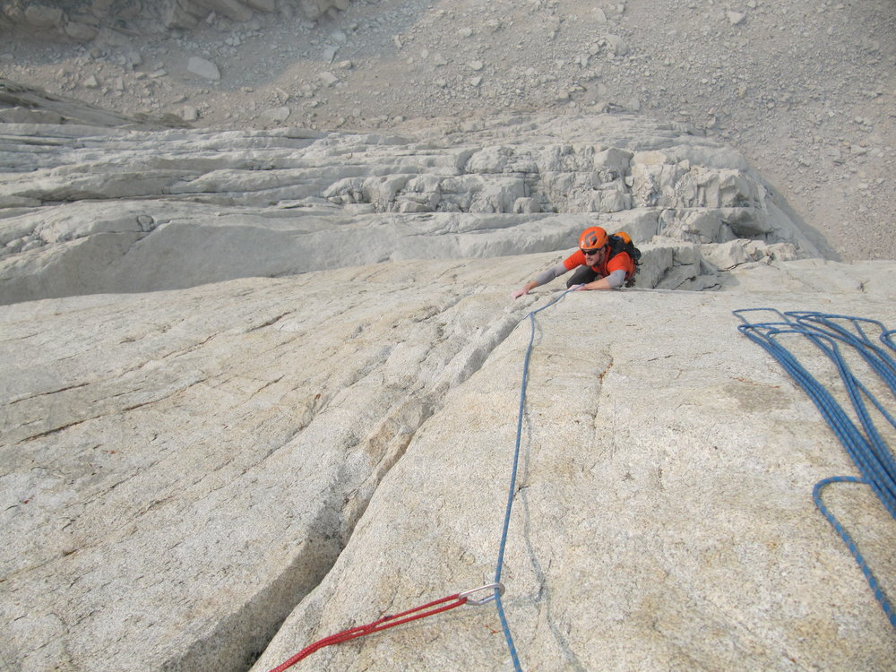 pitch 7, bouldery 12a