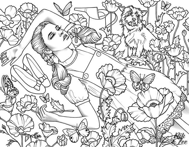 New illustrations and original art work by Rik Lee Rik Lee
