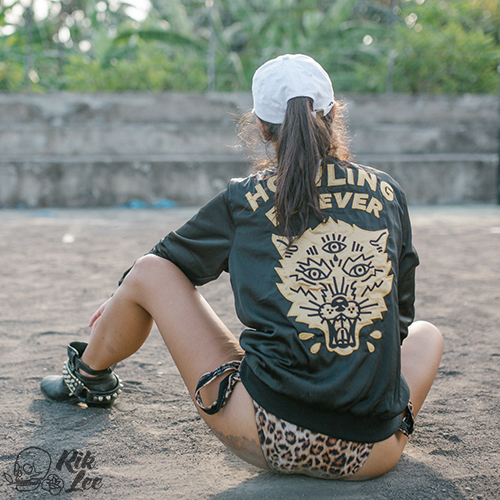 42d1b3a5932 ... Tropical Rush Jumpsuit. Rik   Reg Howling Forever Hand Embroider Bomber  Jacket