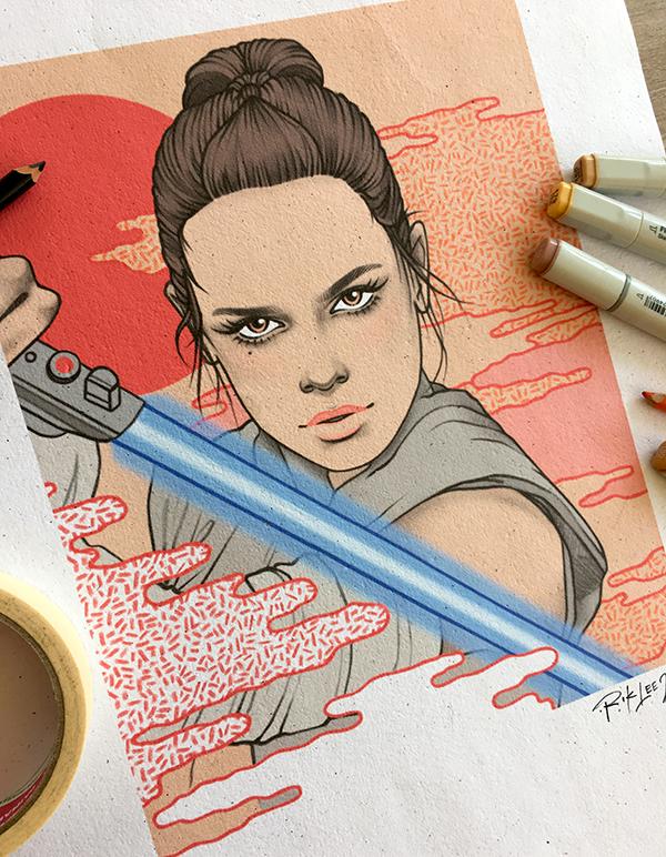 Rey - The Last Jedi, Star Wars X Radio Velvet