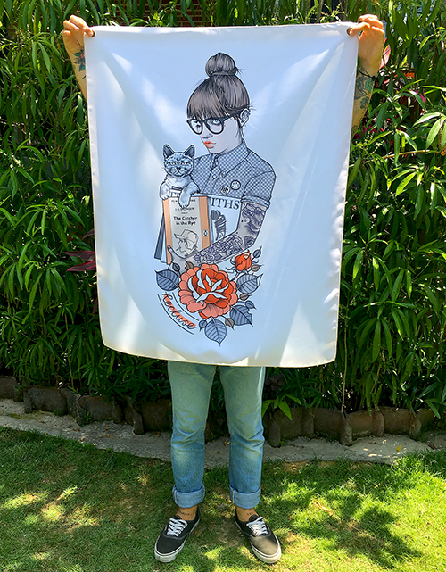 Recluse - Fabric Banner