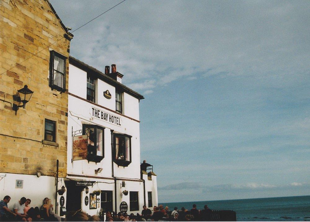 the bay hotel, taken on 35mm film