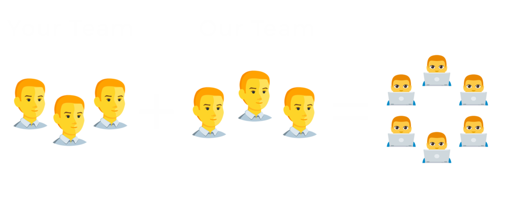 Expand your team - Our multilingual software developers will make your organization feel right at home.