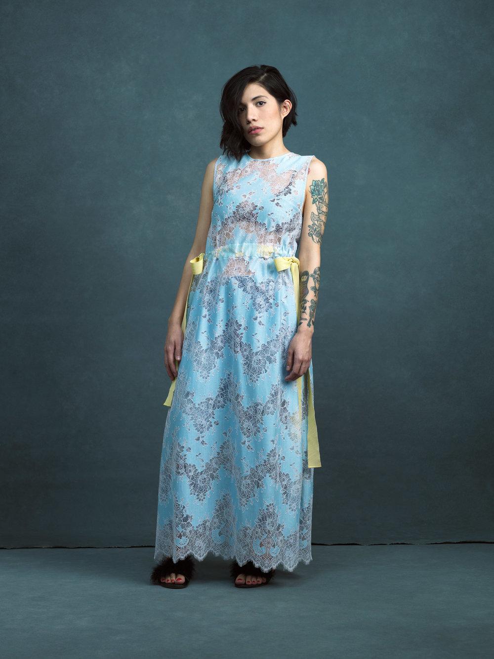 The Unicorn Woman - Silvinaa in the Evanescence Dress.