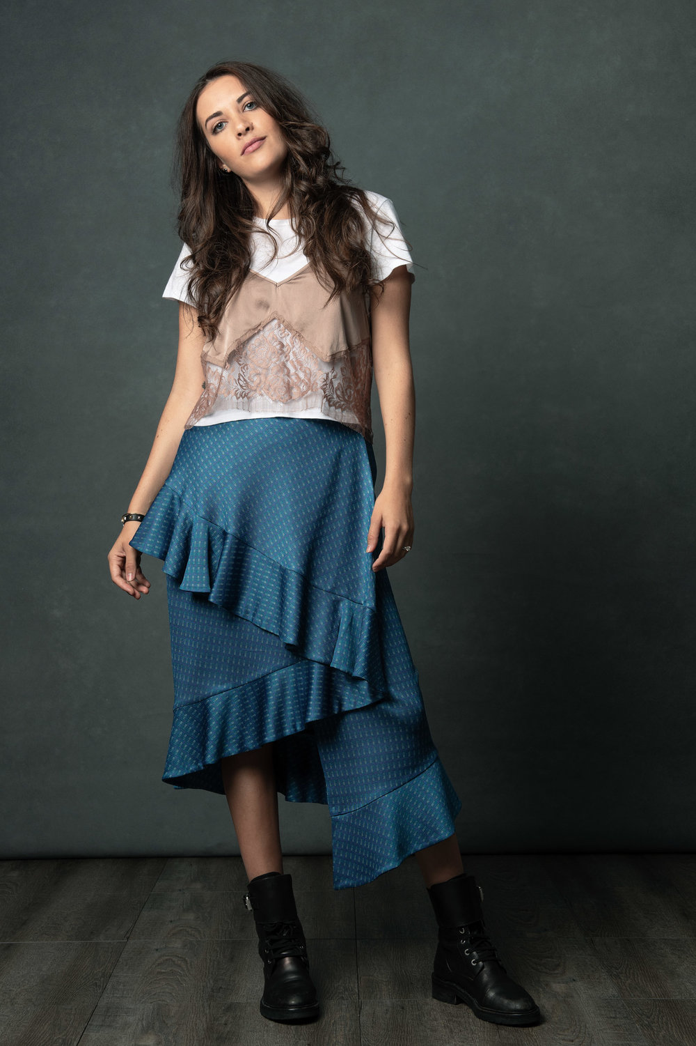 The Concept Creator - Marcela Jongezoon in the Fascination Skirt.