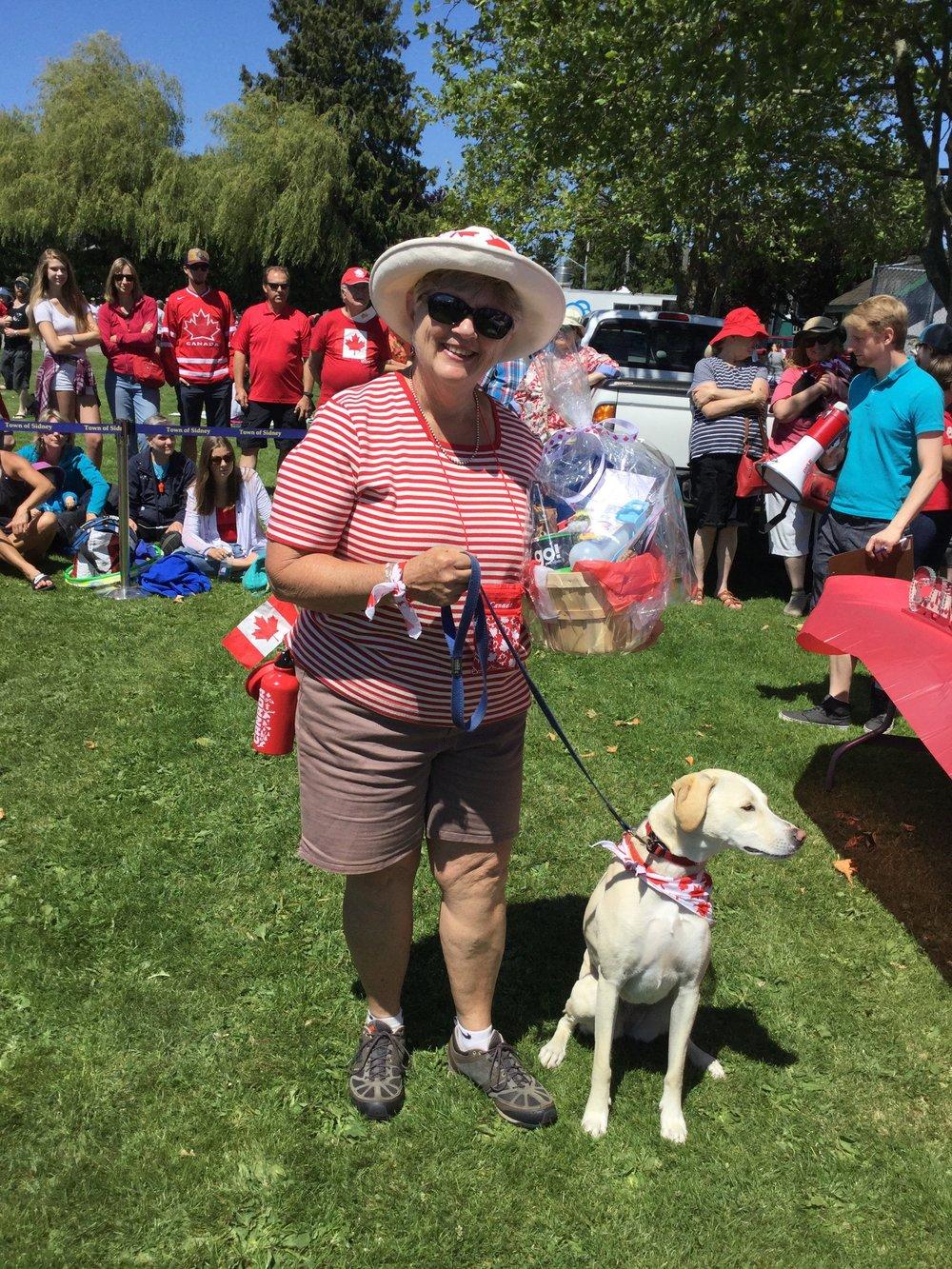 Canada Day Dog Show Winner