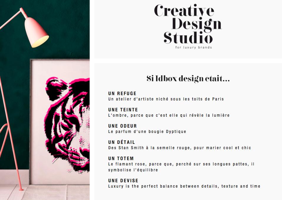- Brand content réalisé pourIdbox DesignPour concocter un A propos désirable pour ce studio de design de luxe, LoudStory a créé un contenu sensoriel qui souligne son obsession du détail.