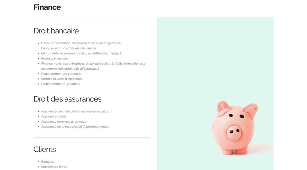 CSF Avocats - Moderniser son offre et la présenter du point de vue des clients.