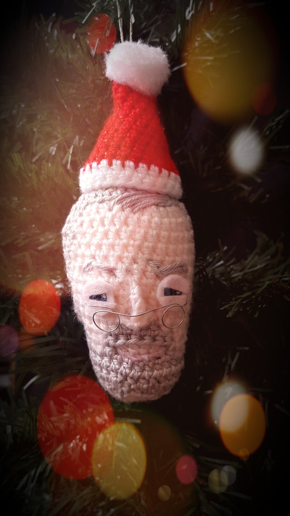 Jeremy Corbyn Xmas Tree Bauble