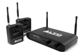Wireless pa - Here's a great idea. We've just added to our hire stock the Alto Stealth Wireless system. Why's this a good idea?Like any good DJ's we want a full dancefloor every time, but from experience we know that on those warm summer's evenings, often after a day of eating, drinking and being merry, sometimes this doesn't happen because guests are preferring a relaxing time socialising on the patio drinking Prosecco (and who can blame them?).So we thought that adding speakers around your venue, including outside areas offers a chance for you and your guests to continue to enjoy the music (and note, in some cases, bridal couples have put a lot of effort into their playlists), whilst simply relaxing.Our wireless systems offer huge flexibility, without the need for long cable runs, and all our satellite speaker's volumes can be independently controlled.