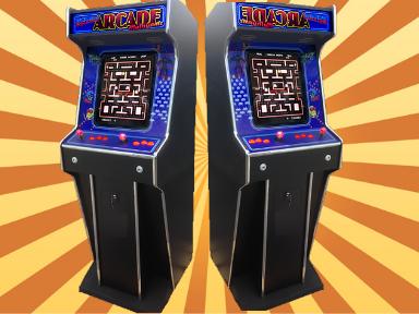 retro arcade hire -