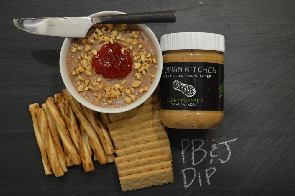 Peanut Butter & Jelly Dip -