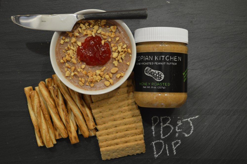 Peanut Butter & Jelly Dip -