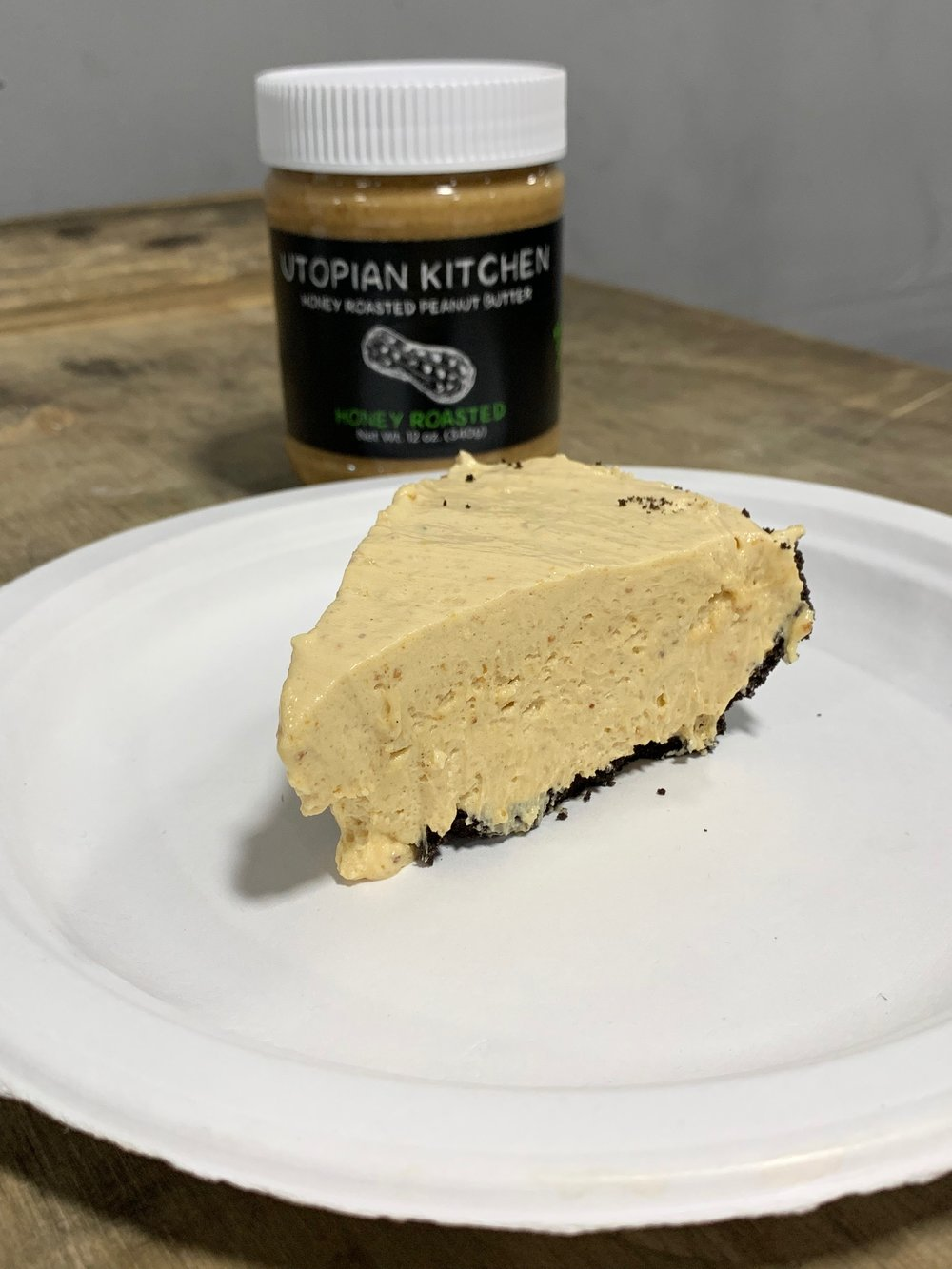 No Bake Peanut Butter Pie - Click for recipe
