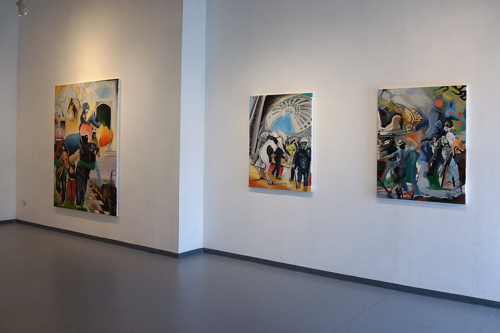 Game Over Installation view