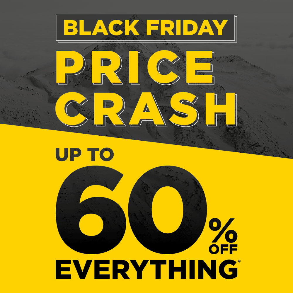 Mountain Warehouse - Up to 60% off Everything*From 17th - 27th November
