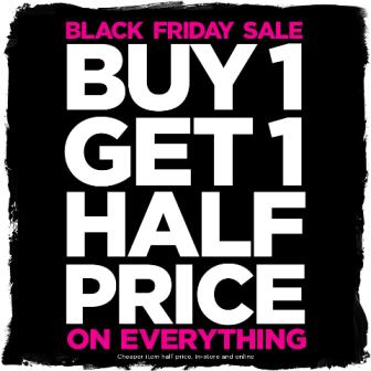 Bonmarche - Buy 1 get 1 half price!Tuesday 21st – Monday 27th November.
