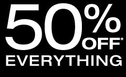 GAP - ENTIRE STORE 50% OFF22nd Nov - 27th Nov