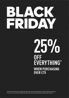 Adidas - 25%OFF Everything*When purchasing over £75Friday 24th Only